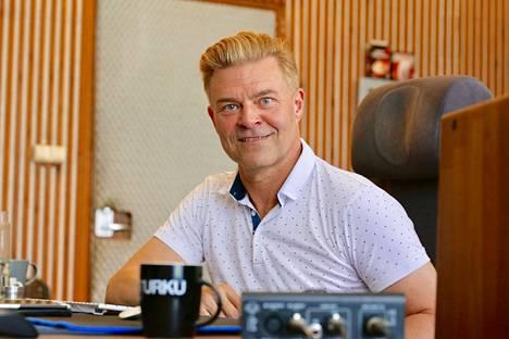 Ressu Redfordin studiotyöhuone sijaitsee Turun Raunistulassa.