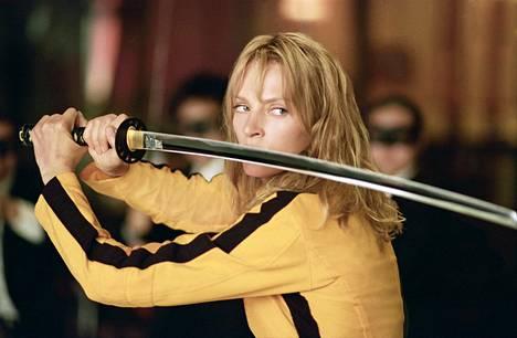 Kill Bill -elokuvassa Uma Thurmanin esittämä hahmo lähtee veriselle kostoretkelle.