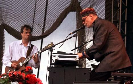 Wigwam esiintyi Ruisrockissa vuonna 2000.