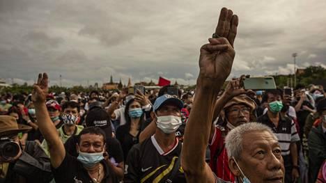 Mielenosoitukset ovat olleet lähes päivittäisiä jo heinäkuun puolivälistä lähtien.