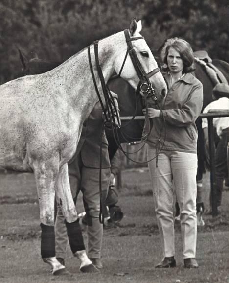 Hevoset ovat aina olleet Annen elämän suuri intohimo.