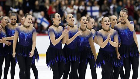 Helsinki Rockettes nousi mitaleille takamatkalta.
