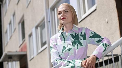 Vasemmistoliiton kuntavaalien ääniharava Minja Koskela.