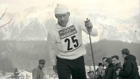 Tormod Knutsen voitti kultaa Innsbruckin olympialaisissa vuonna 1964.