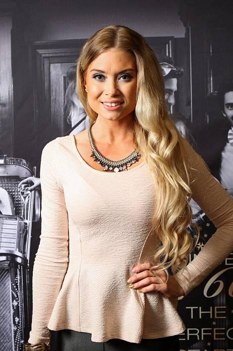 Isabel Ljungdell tuli tutuksi Miss Helsinki -kisasta.
