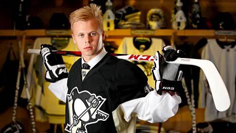 Olli Määttä oli Pittsburgh Penguinsin ensimmäisen kierroksen varaus vuonna 2012.