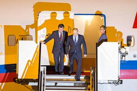 Putin vierailee Hampurissa osallistuakseen G20-maiden kokoukseen.