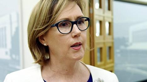 Sdp:n presidenttiehdokas on kansanedustaja Tuula Haatainen.