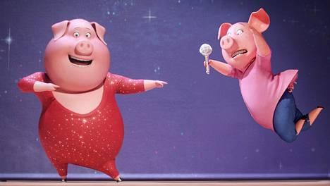 Hyväntuulinen koko perheen animaatio saa neljä tähteä.