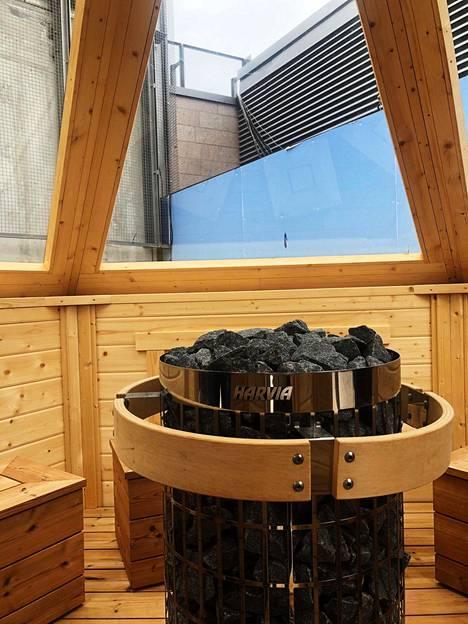 Big Brother -talosta löytyy tietenkin myös sauna.