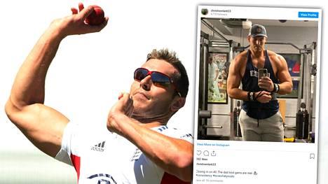 Chris Tremlett on kasvattanut lihasmassaansa urheilu-uransa jälkeen.