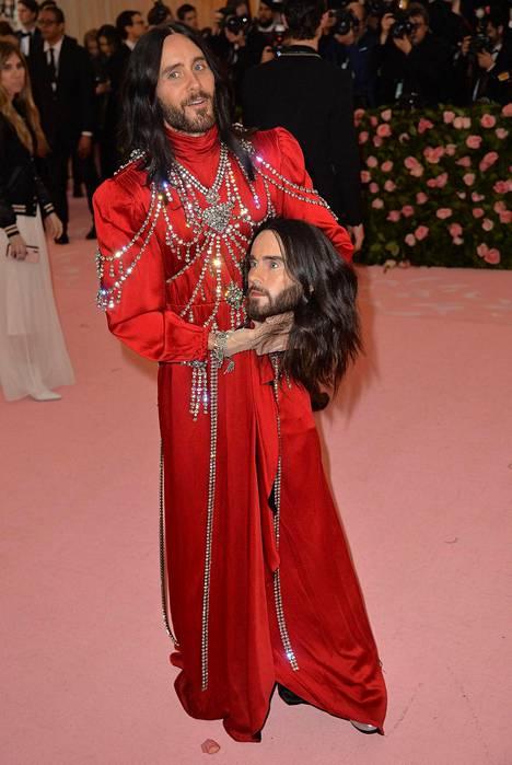 Jared Leton tyylinäyte oli yksi illan kohauttavimpia.