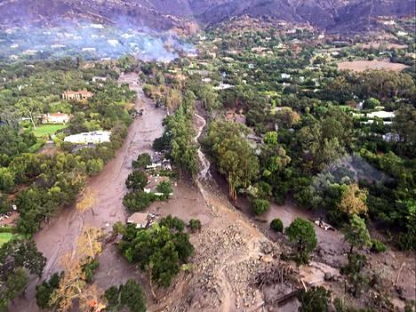 Mutavyöryn yhteydessä on palokunnan mukaan kadonnut Monteciton alueella yli 20 ihmistä.