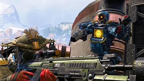 Apex Legends on ollut alkuvuoden pelisensaatio. Ilmaispelissä kolmen hengen joukkueet taistelevat voitosta pienenevällä pelialueella.