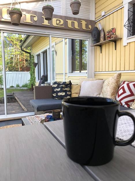 352 risteilyä tehnyt Sami Koski risteilee mieluiten Helsingin ja Tukholman väliä, yhdessä kahden lapsensa ja vaimonsa kanssa.