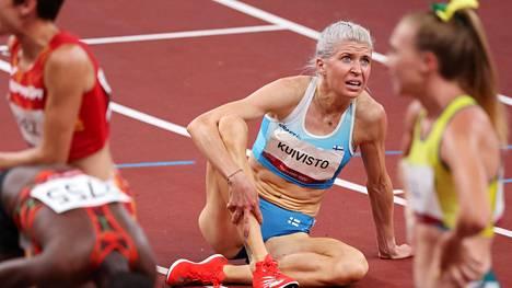 Sara Kuivisto juoksi Tokiossa neljä kisaa ja teki neljä Suomen ennätystä.