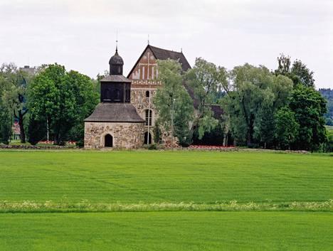 Sipoon vanha kirkko.