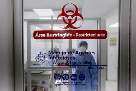 Meksikon viranomaiset tutkivat helmikuussa Guadalajarassa, onko alueella kehittynyt uusi koronaviruksen muunnos.
