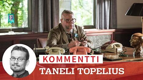 Fingerporin kaupunginjohtaja Aulis Homelius (Kari Väänänen) yrittää päteä puolueensa ja vaimonsa silmissä. Elokuva piirtää viiltävää kuvaa pikkukaupungin valta-asetelmista.