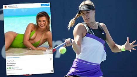 Eugenie Bouchard, 26, rakastaa yhä tennistä ja haluaa kehittyä pelaajana.