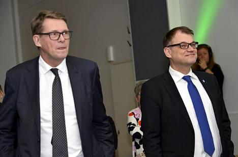 Matti Vanhasen (vas.) kannatus presidentinvaaleissa jäi 4,1 prosenttiin. Juha Sipilä ilmoitti vaalituloksen selvittyä nopeasti halustaan jatkaa keskustan puheenjohtajana.