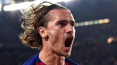 Antoine Griezmann siirtyi täksi kaudeksi Barcelonaan.