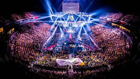 ESL järjestää seuraavan Major-turnauksen toukokuussa Brasiliassa. Kuva ESL One Cologne 2019 -tapahtumasta heinäkuulta.