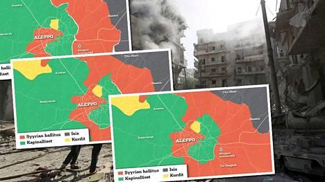 Itä-Aleppon motin valtaaminen kapinallistaistelijoilta on edennyt odotettua nopeammin.