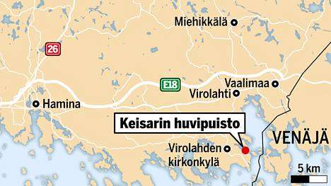 Keisarin huvipuistosta on meriteitse lyhyt matka Pietariin.