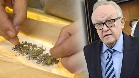 """""""Todennäköisesti ihan tolkun ajatus"""", Ahtisaari pohtii uutuuskirjassa mietojen huumeiden vapauttamista."""