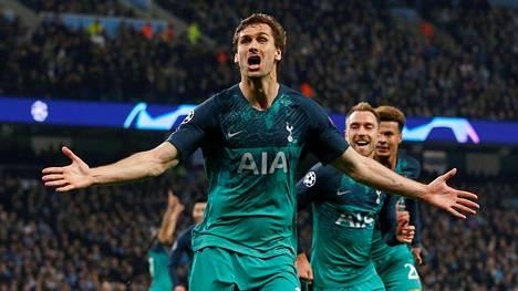 Hurjaa draamaa Mestarien liigan puolivälierissä! Tottenham pudotti Manchester Cityn – Liverpool murskasi Porton