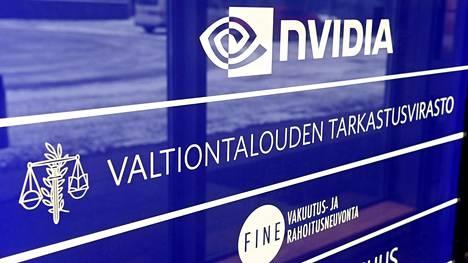 Valtiontalouden tarkastusvirasto VTV:n logo Helsingissä 5. tammikuuta 2021.