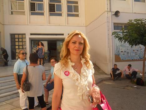 Marianthi Kafetzi oli varma Kreikan euroerosta ei-äänten voittaessa.