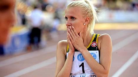 Sandra Eriksson luottaa loppukiriinsä.