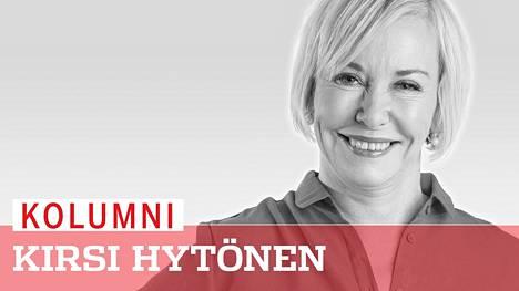"""Kirsi Hytösen kolumni: """"Asuin muutaman viikon miehen kanssa ja tulos oli kolme lisäkiloa"""""""