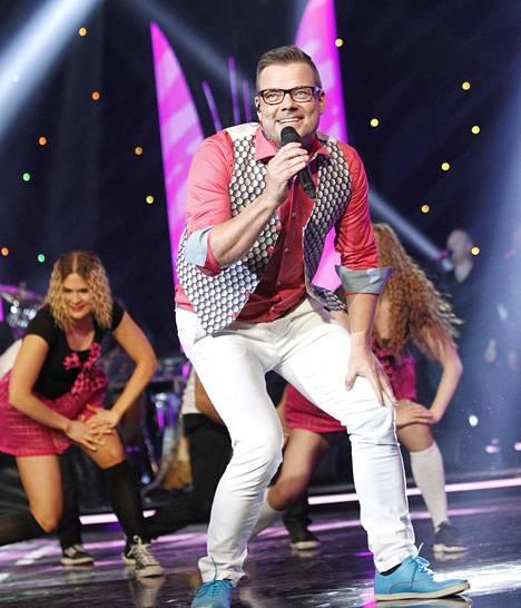 Jari Sillanpää esiintyi keväällä 2014 Tähdet, tähdet -sarjan finaalissa.