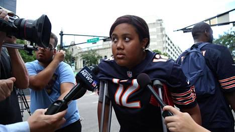 Taylor Poindexter loukkaantui Floridan joukkoammuskelussa, jossa ampujan epäilleen ensin ampuneen kuoliaaksi kaksi uhria ja sitten itsensä.