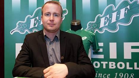 EIFin valmentaja Jens Mattfolk.