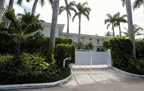 Jeffrey Epsteinin talo Floridassa.