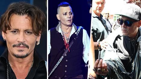 Johnny Depp on totuttu näkemään julkisuudessa hyvinvoivana. Nyt hän on luopunut viiksistään ja mitä ilmeisimmin myös laihtunut.