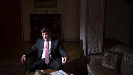 Venäjän tuore Suomen-lähettiläs Pavel Kuznetsov, 59, tuli ensimmäistä kertaa Suomeen jo 1980 eli Neuvostoliiton aikana.