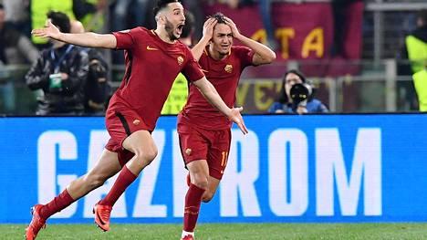 AS Roma rynni Mestarien liigan välieriin.