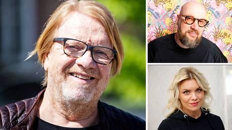 Heikki Silvennoinen, Juha Vuorinen ja Irina Isberg ovat nykyisin raittiita.