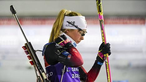Ingrid Tandrevold sijoittui sunnuntain takaa-ajossa kuudenneksi.