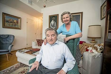 Reijo  Kallio ja Inkeri Kallio ovat olleet naimisissa 52 vuotta. Heillä on kaksi aikuista poikaa.