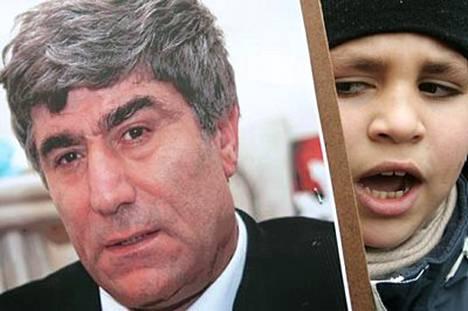 Toimittaja Hrant Dinkin murha herätti laajoja mielenosoituksia ympäri maailman esimerkiksi Brysselissä.