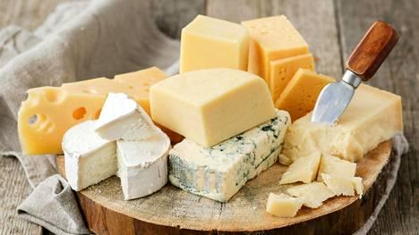 Tutkimuksen mukaan runsas juuston syöminen ei nosta kolesterolia.