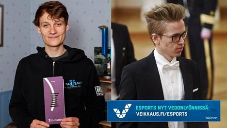 Joona Sotala (vasemmalla) ja Topias Taavitsainen ovat ehdolla Urheilugaalassa.