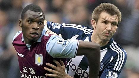 Aston Villa-West Bromwich Albion päättyi tasan.