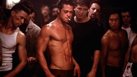Brad Pitt näytteli Fight Club -elokuvassa Tyler Durdenia, salaisen tappelukerhon mystistä perustajaa.
